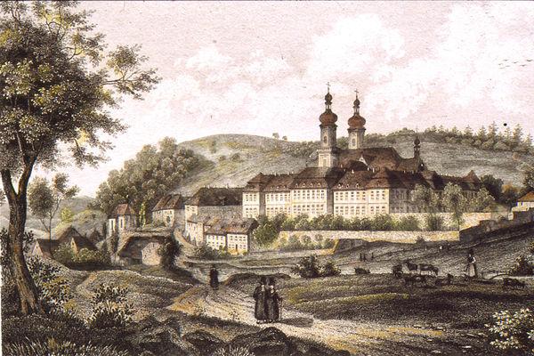 Historischer Stich St. Peter