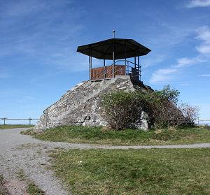 Aussichtspyramide am Kandel