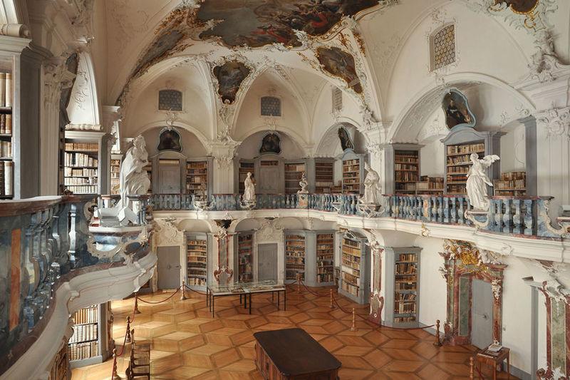 Rokoko-Bibliothek Kloster St. Peter