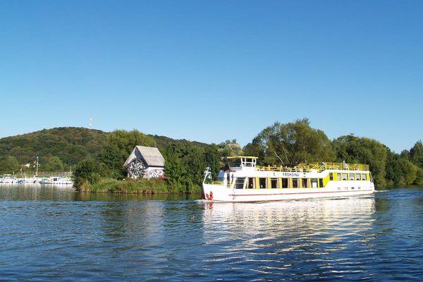 Saarbrücker Personenschifffahrt am Osthafen
