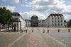 Schlossplatz mit Saarbrücker Schloss