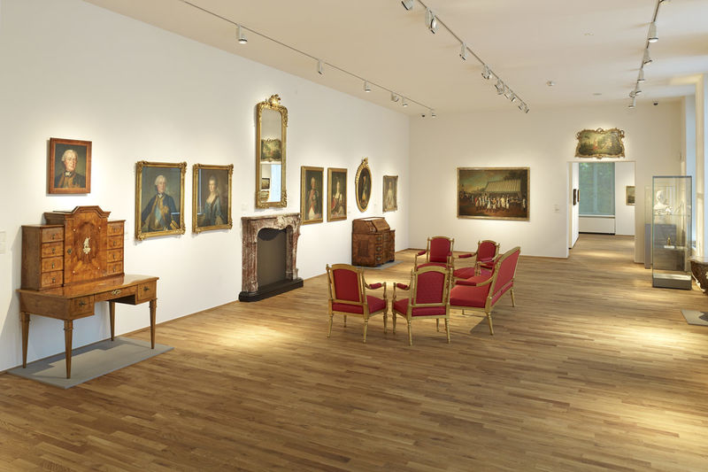 Blick in die Alte Sammlung des Saarlandmuseums