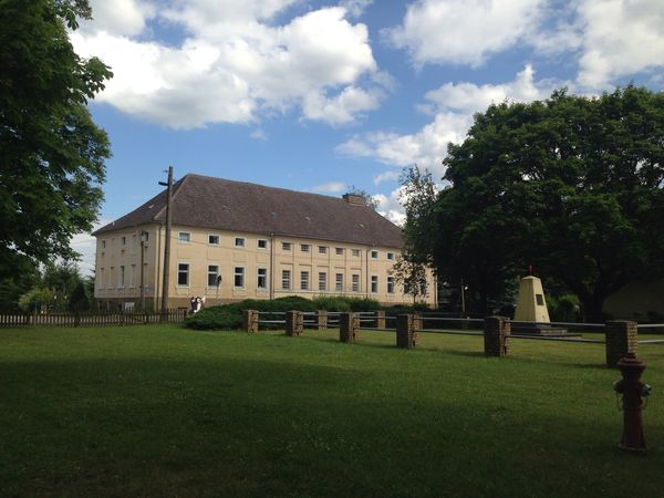 Altes Amtshaus Steinhöfel, Foto: Gabriela Behnke