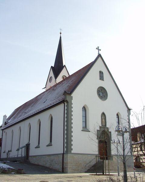 Frontalansicht Remigiuskirche