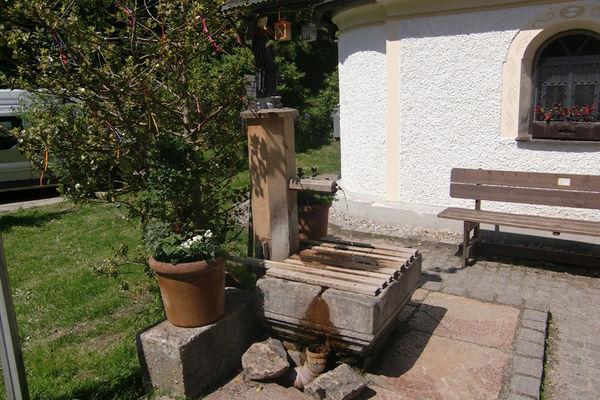 Brunnenkapelle zum Heiligen Leonhard in Bad Leonhardspfunzen