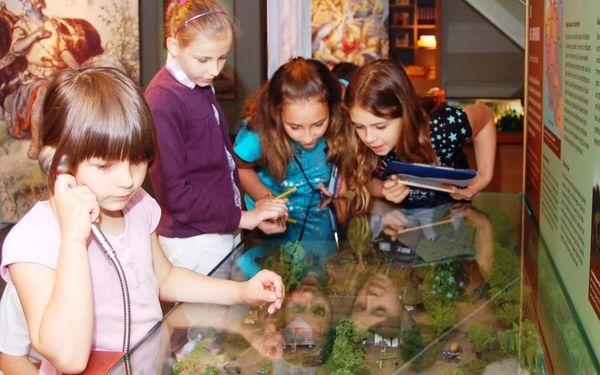 Besucherzentrum Burg Storkow (Mark) - Kinder mit Germanensiedlung, Foto: Jenny Jürgens