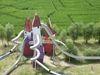 Irrlandia Rutschen von oben, Foto: Evelin Beier