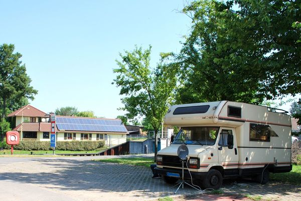 Reisemobil-Stellplatz Storkow, Foto Danny Morgenstern