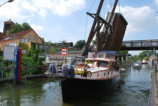 Schleuse in Storkow (Mark), Foto: Tourismusverein Scharmützelsee e.V.