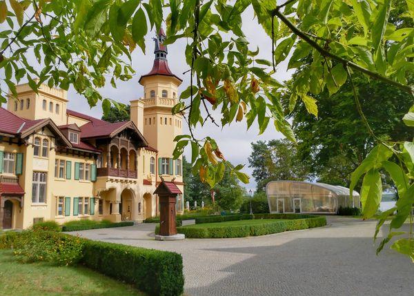 Schloss Hubertushöhe, Foto: Angelika Laslo