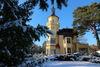 Winter im Schlosspark Hubertushöhe, Foto: Angelika Laslo