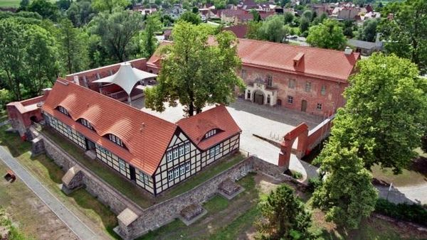 Burg Storkow - Luftaufnahme