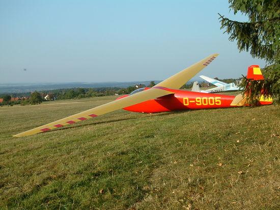 Segelflugplatz Schwanner Warte