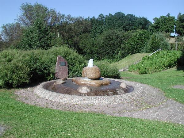 Wilhelm-Ganzhorn-Brunnen