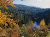 Wandererlebnis mit Blick ins Regental bei Viechtach auf dem Baierweg