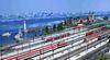 Kopfbahnhof Lindau - Blue Brix – Straubinger Wunderwelten