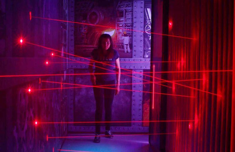 Laser Labyrinth - Blue Brix – Straubinger Wunderwelten