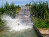 Badespaß in der Wasserrutschbahn am Friedenhain-See