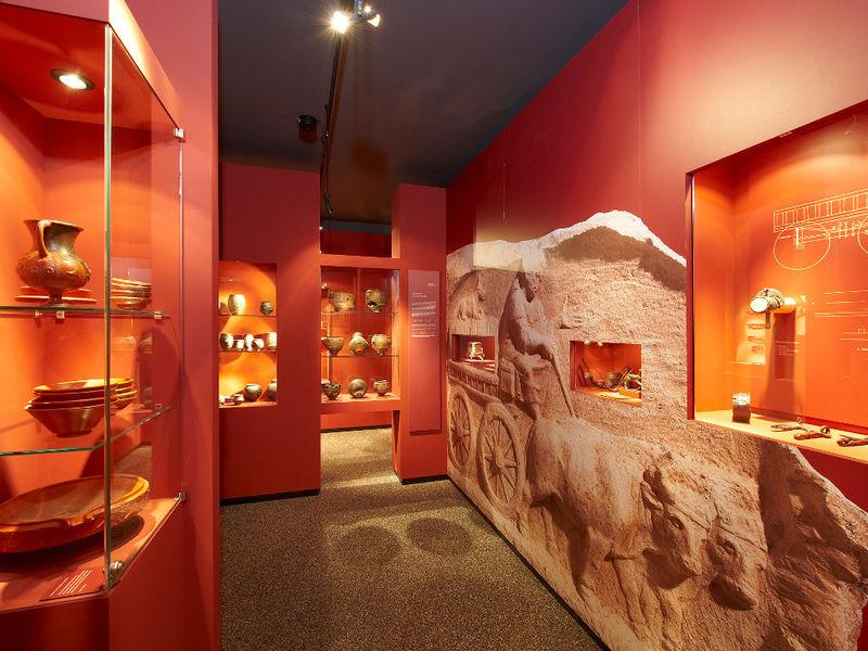 Bedeutende Funde aus der Römerzeit im Gäubodenmuseum in Straubing