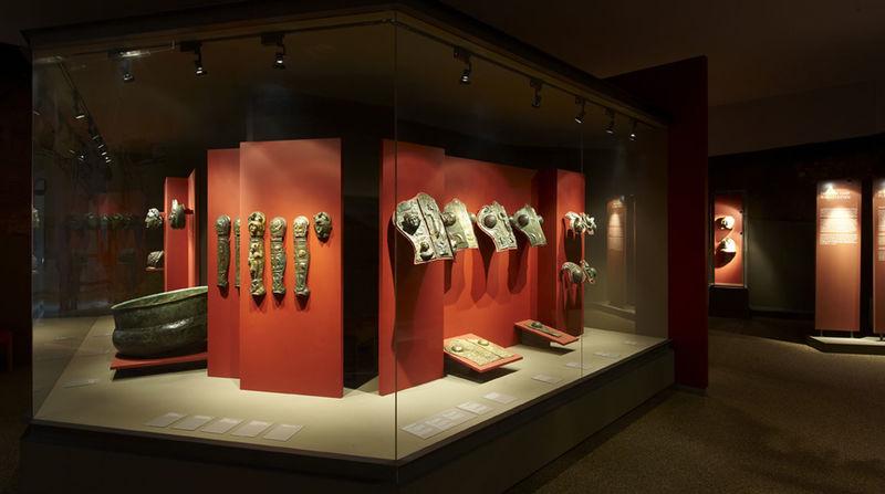 In der Römerabteilung des Gäubodenmuseums Straubing gibt es wahre Schätze zu sehen