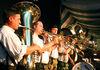 Musikalische Untermalung auf dem Gäubodenvolksfest in Straubing