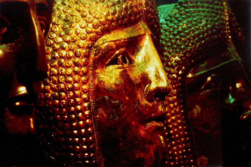 Römermasken im Gäubodenmuseum