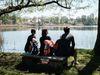 Pause am Stienitzsee, Foto: Christoph Creutzburg , Lizenz: Seenland Oder-Spree