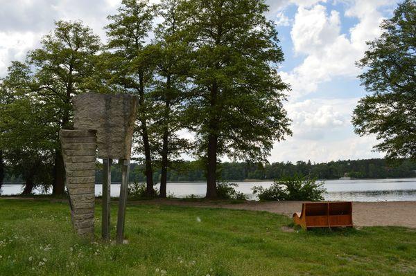 Badestelle am Kulturpark, Foto: Stadt- und Tourtistinformation Strausberg