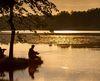 Angler vor Sonnenuntergang, Foto: Florian Läufer