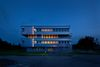 TP6 Nachtansicht, Foto: Julia Otto, Lizenz: STIC Wirtschaftsfördergesellschaft MOL mbH