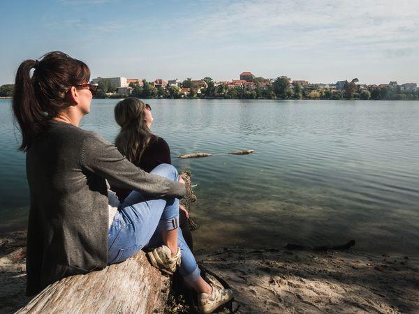 Uferwanderung Straussee, Foto: Christoph Creutzburg, Lizenz: Seenland Oder-Spree