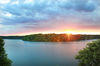 Sonnenaufgang am Straussee - The Lakeside Burghotel zu Strausberg - Prinzmediaconcept