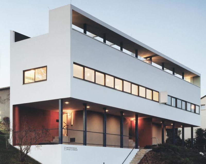 Weissenhofsiedlung; Le Corbusier