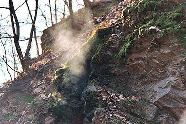 Brennender Berg