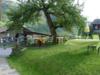 Das Restaurant vom Campingplatz Garvera