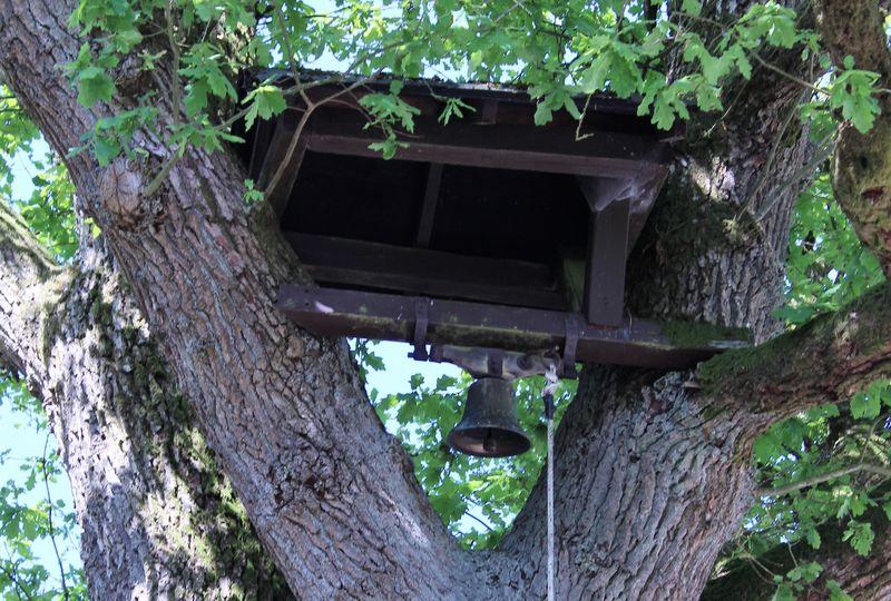 Glocke in der alten Eiche in Linneperhütte