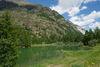 Der Schalisee liegt direkt am Wanderweg zwischen Täsch und Randa.