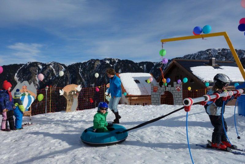 Schneespielplatz Tenna Surselva