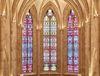 Kirchenfenster in der Abtei von Gerhard Richter