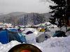 Zeltlager der Biker beim Elefantentreffen in Loh bei Solla