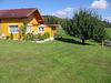 Blick auf das Ferienhaus zur Weinlaube in Kneisting bei Thurmansbang im Dreiburgenland