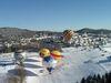 Winter-Ballontreffen im Luftkurort Thurmansbang im Bayerischen Wald