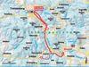 Streckenverlauf der Loipe zum Museumsdorf Bayerischer Wald
