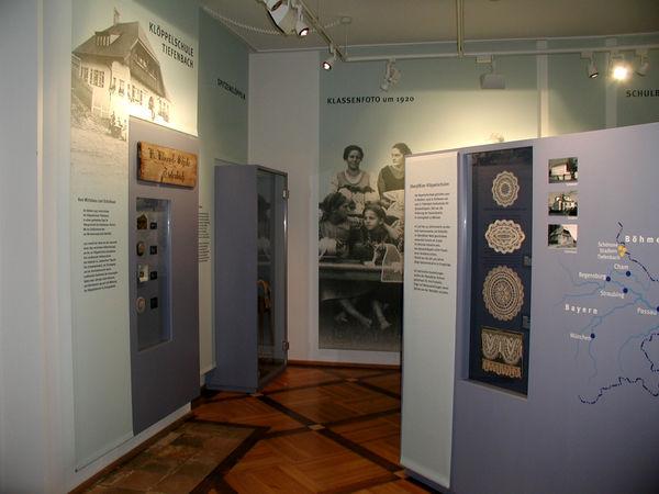 Museum ehemalige Klöppelschule in Tiefenbach im Naturpark Oberer Bayerischer Wald