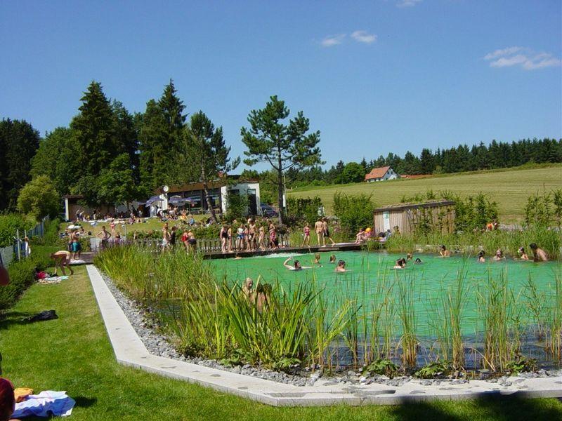 Gemütliches Badevergnügen im Naturwaldbad Tiefenbach