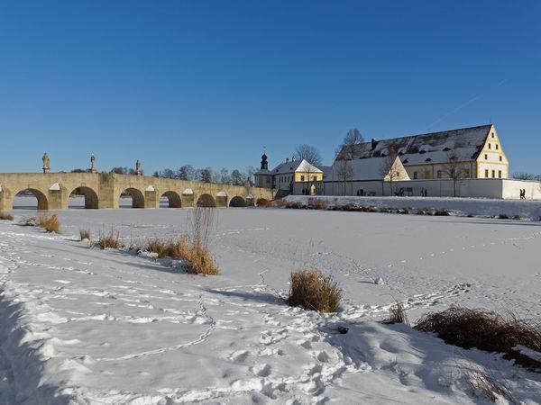 Der Fischhof im Winter