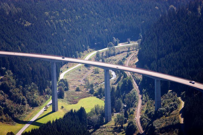 Gutachtalbrucke Schwarzwald Panoramastrasse