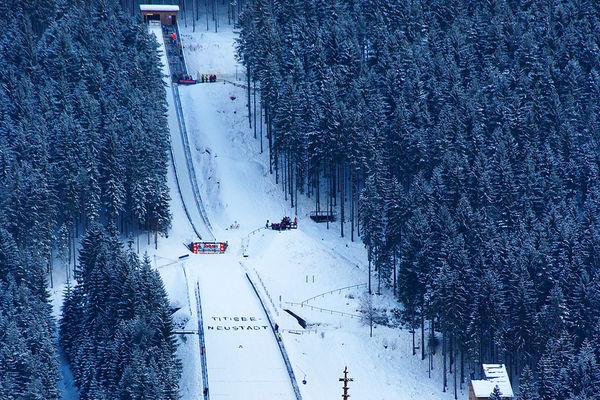schi springen