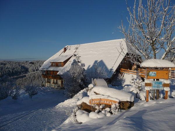 Haberjockelshof im Winterkleid