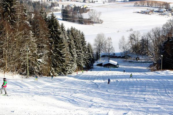 Skilift Göttersberg in Tittling im Bayerischen Wald